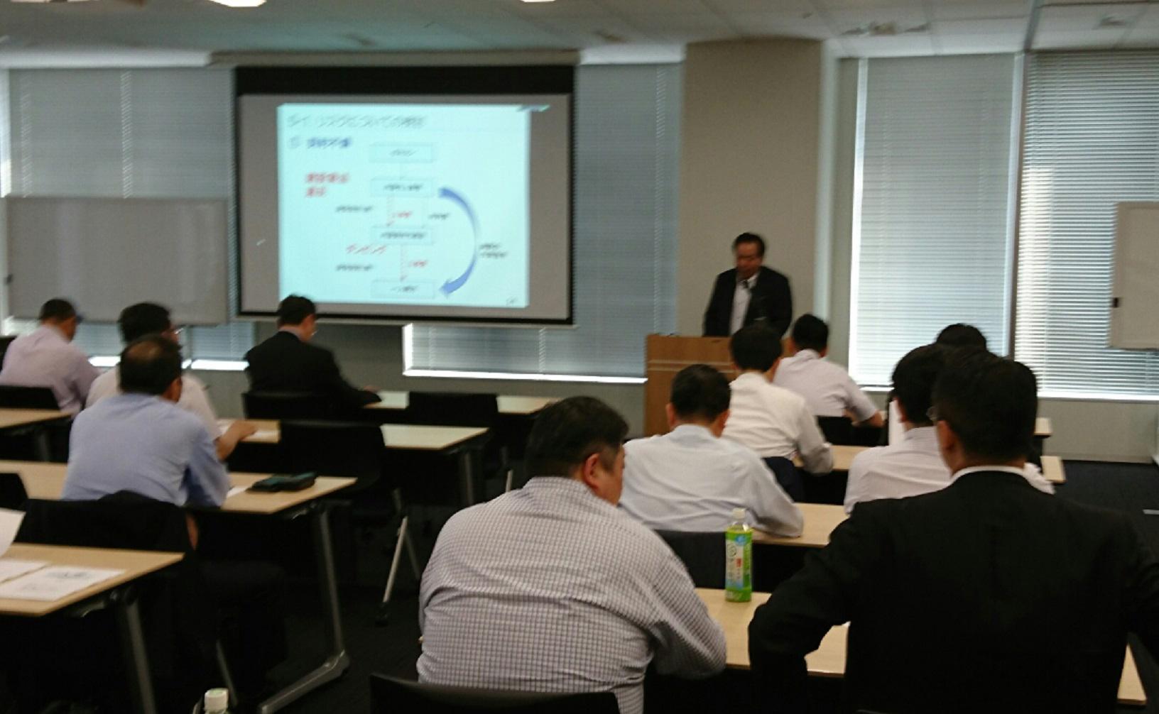 壁装研究会 「内装仕上業界におけるコンプライアンスについて」セミナー開催
