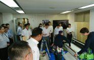 壁装研究会 「不織布壁紙専用糊 施工試験」開催